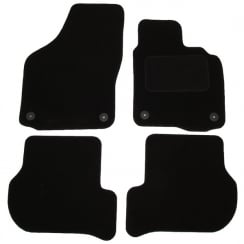 Volkswagen Golf 6 car mats 2008-2013 with round clips