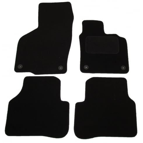 Polco Volkswagen Passat car mats 2007-2015 with round clips