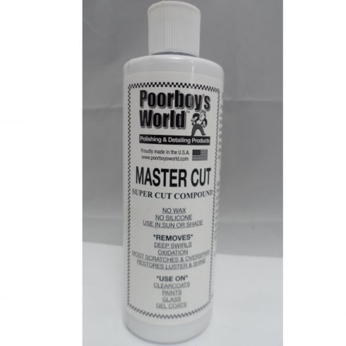 Poorboys World Master Cut Super Cut Compound