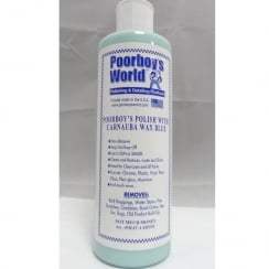 Poorboys World Polish with Carnauba Wax Blue