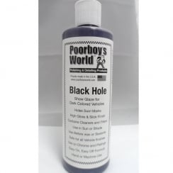 Pooryboys World Black Hole Show Glaze for Dark Coloured Vechiles