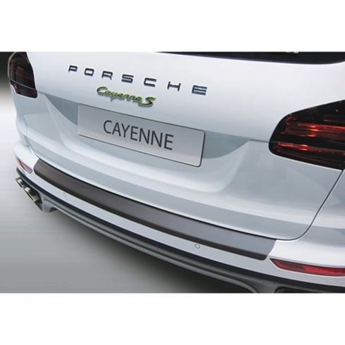 Porsche Cayenne rear bumper protector from Oct 2014 to Sept 2017