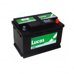Premium 096 car battery with a 3 year warranty. (LP096 Lucas battery)