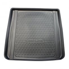 Premium tailor made heavy duty boot liner for Jaguar XF Sportbrake (incl models with rails in the boot)