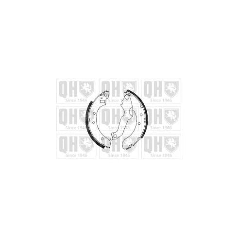 QH BS806 Rear brake shoes - Ford Escort MK4,5,6
