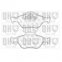 Quinton Hazell front brake pad set for Ford Fiesta MK5 and MK6