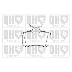 Quinton Hazell rear brake pad set for VW Polo MK3 MK4