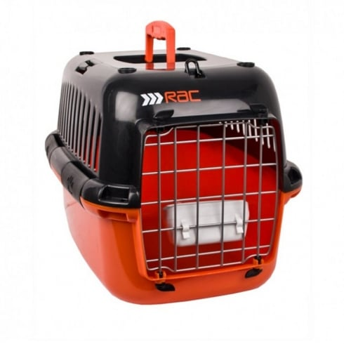 plastic pet/dog carrier - medium