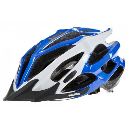Raleigh RSP extreme 3 helmet blue with detox fitting system large