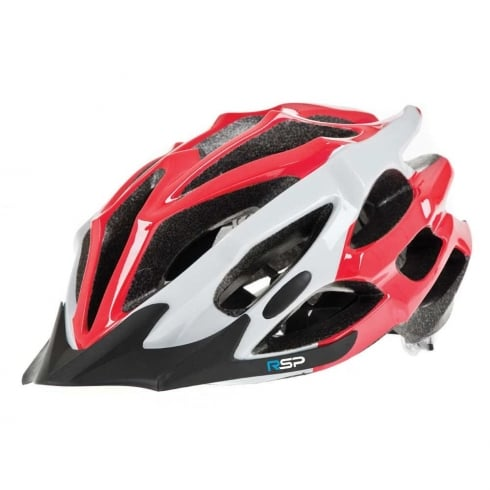 Raleigh RSP Extreme red and white cycle Helmet large 58-61cm