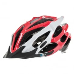 RSP Extreme red and white cycle Helmet large 58-61cm