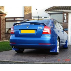 Rally style mudflaps for Skoda Octavia VRS
