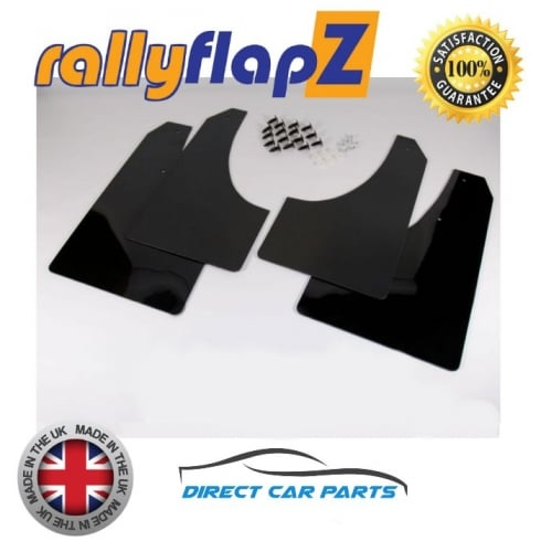 RallyFlapz set of four rally stlye car mudflaps for Peugeot 208