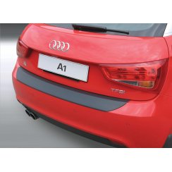Audi A1/S Line rear guard bumper protector Aug 2010 to Dec 2014