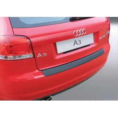 Audi A3/S3 rear guard bumper protector 3 door June 2008 to May 2012