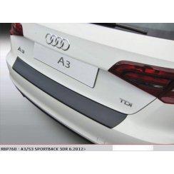 Audi A3/S3 Sportback 5DR rear guard bumper protector 6.2012>