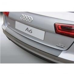 Audi A6 estate rear bumper protector Sept 2014>