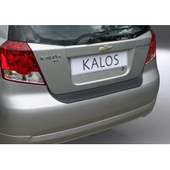 Chevrolet Kalos rear guard bumper protector 5Dr 2002 to 2006