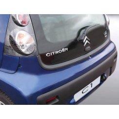 Citroen C1 rear guard bumper protector 3/5 door 6.2005 to 3.2014