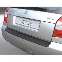 Citroen C2 rear guard bumper protector 3 door