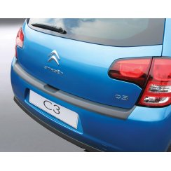 Citroen C3 rear guard bumper protector 5 door 01/10 >