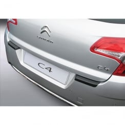 Citroen C4 rear guard bumper protector 11/2010 >