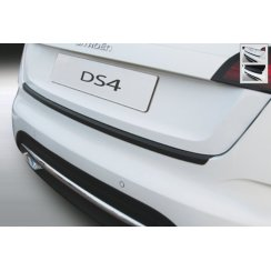 Citroen DS4 rear guard bumper protector in black finish 5.2011>