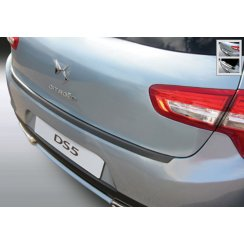 Citroen DS5 rear guard bumper protector in black finish 2.2012>