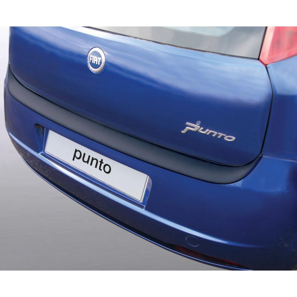 Fiat Rear Bumper Protectors And Guards From Direct Car Parts Grande Punto Boot Fuse Box Rgm Protector 3 5 Door Up To 09