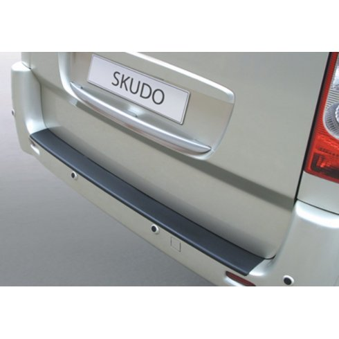 Fiat Scudo rear guard bumper protector (up to 2016)