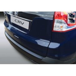 Honda CRV rear guard bumper protector in black finish 11.2012 > 1.2015