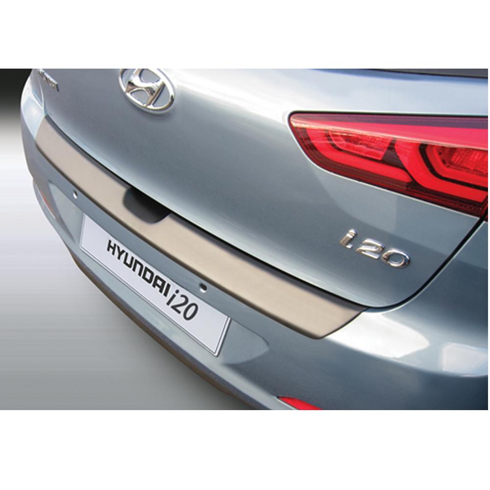 Hyundai i20 rear bumper protector for 5 door models from Dec 2014 onwards