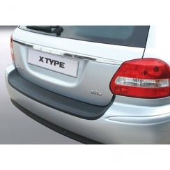 Jaguar X Type estate rear guard bumper protector Oct 2007 onwards