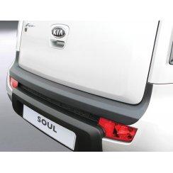 Kia Soul rear guard bumper protector 02/2009-2011
