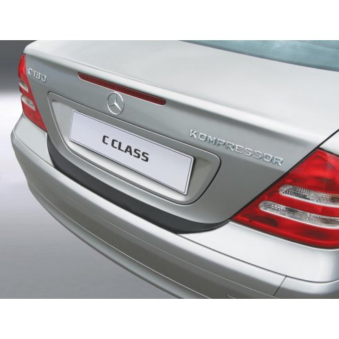 RGM Mercedes C Class saloon rear guard bumper protector 03/00 to 12/06