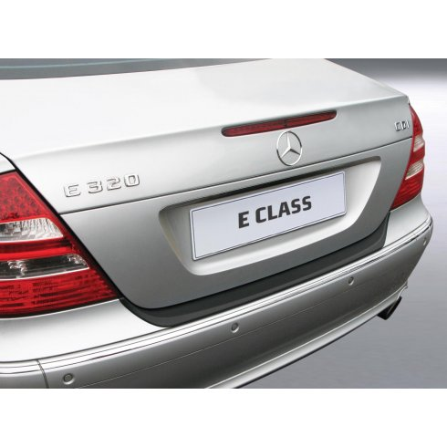 RGM Mercedes E Class saloon rear guard bumper protector 2002 > 2009
