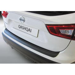 Nissan Qashqai rear guard bumper protector 2014 onwards