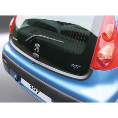 Peugeot 107 rear guard bumper protector 3/5 door 03/2005 >