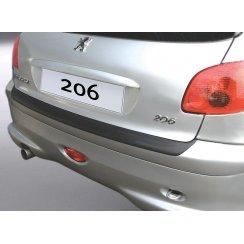 Peugeot 206/206 CC rear guard bumper protector