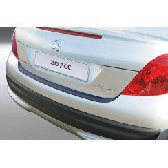 Peugeot 207 CC rear guard bumper protector 2 door 03/2007 >