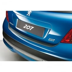 Peugeot 207 rear guard bumper protector 3/5 door 03/2006 >