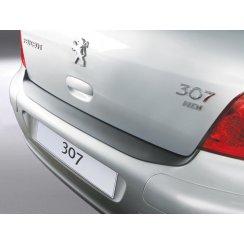 Peugeot 307 rear guard bumper protector 3/5 door > 08/2007