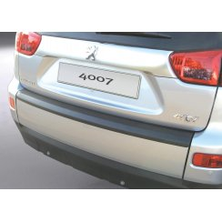 Peugeot 4007 rear guard bumper protector 11/2006 >