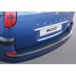 Peugeot 807 rear guard bumper protector 03/2002 >