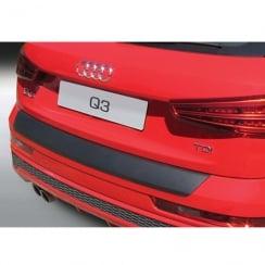 RBP762 Rear bumper guard Audi Q3/RSQ3 10.2011>