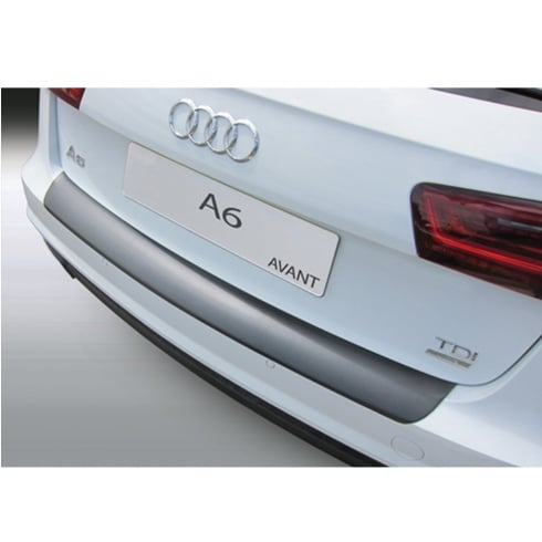 rear bumper protector for Audi A6 Avant / Estate incluidng S Line from June 2016 onwards