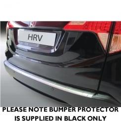 rear bumper protector for Honda HR-V from Sept 2015> (BLACK ONLY)