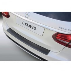 rear bumper protector for Mercedes C Class estate from June 2014>