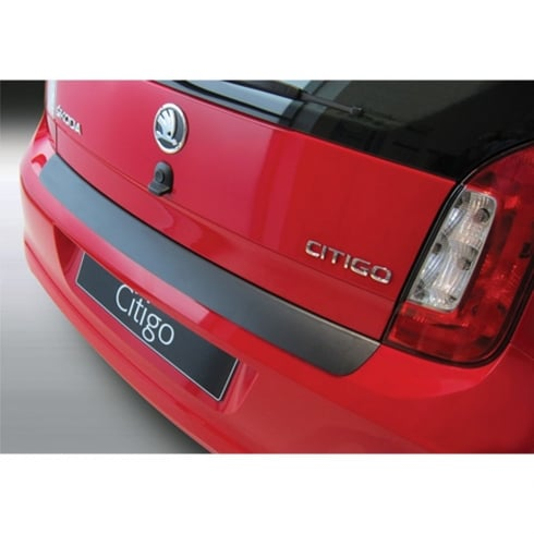 Rear bumper protector for Skoda Citigo 3 and 5 door from May 2012>