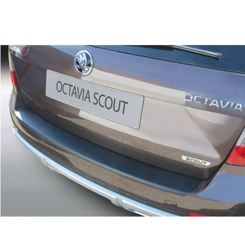 RGM rear bumper protector for Skoda Octavia Scout Estate June 2013 to April 2017